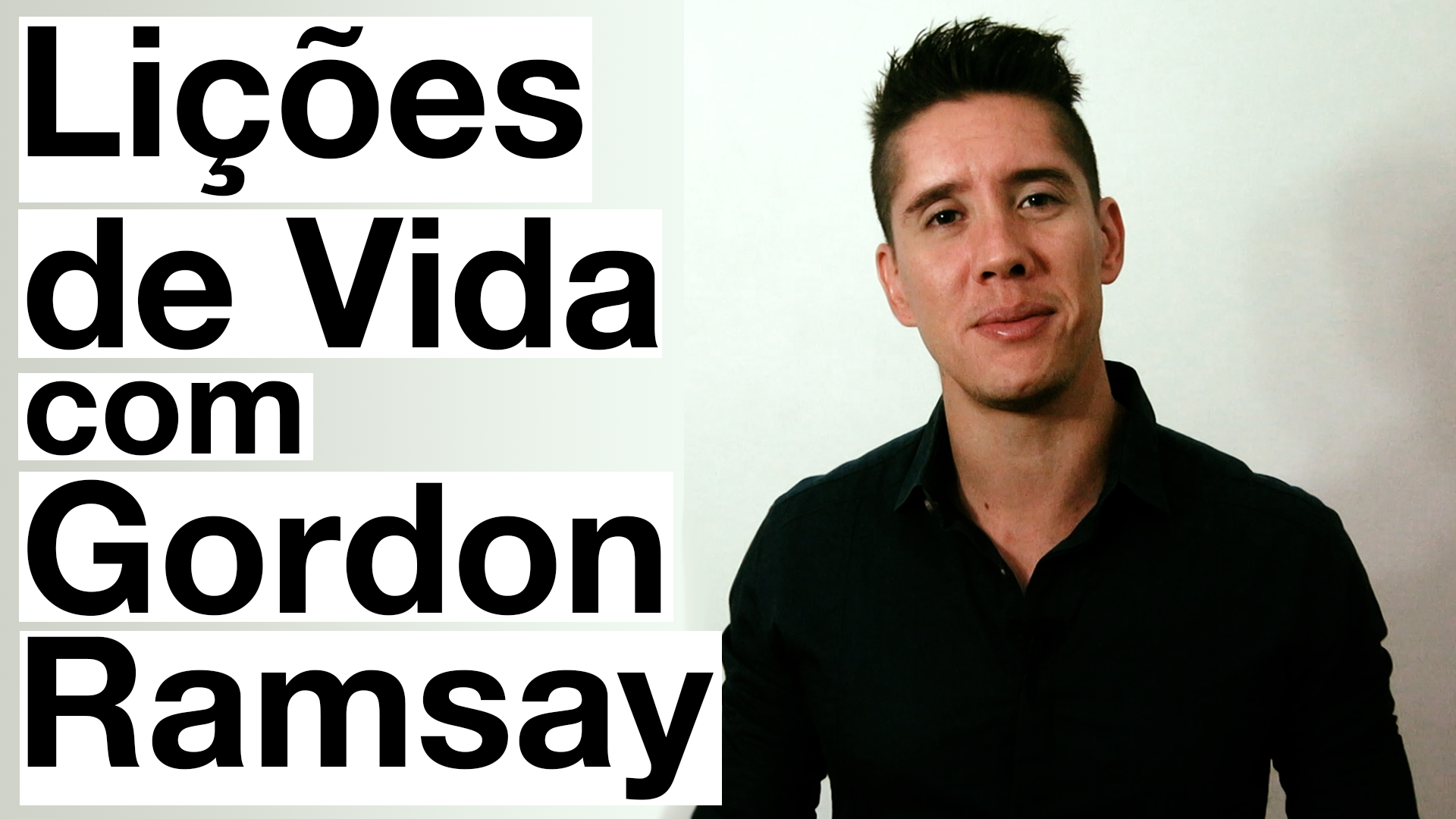 lições de vida com gordon ramsay